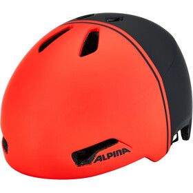 Alpina Hackney Helm Kinder black-red